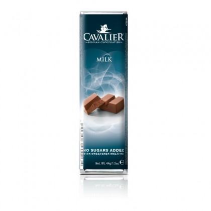 Cavalier Şekersiz Sütlü Çikolata - 44g