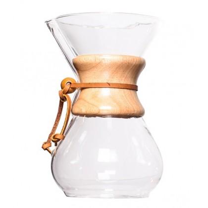 Chemex Ahşap Tutacaklı 6 Cup