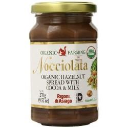 Nocciolata Organik Sütlü Kakaolu Fındık Kreması 270g