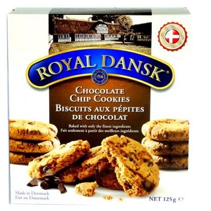 Royal Dansk Çikolata Parçacıklı Kurabiye 125g