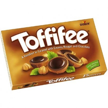 Toffifee Karamel Fındık Çikolata 125g Toptan 15li Koli