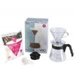 Hario V60 02 Kahve Demleme Kiti Şeffaf