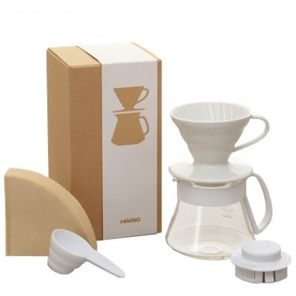 Hario V60 01 Kahve Demleme Kiti Seramik