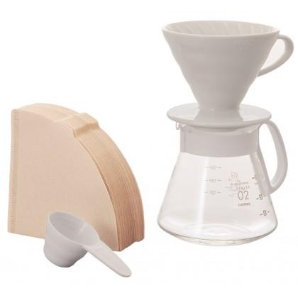 Hario V60 02 Kahve Demleme Kiti Seramik