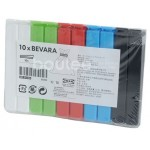 Ikea Bevera 10lu Büyük Paket Kapama Mandalı