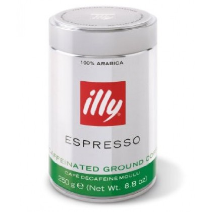 Illy Kafeinsiz %100 Arabica Öğütülmüş Kahve 250g