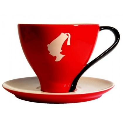 Julius Meinl Espresso Fincan ve Tabak Kırmızı
