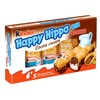 Kinder Happy Hippo 5li Bisküvi