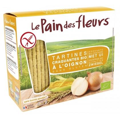 Le Pain Des Fleurs Light Soğanlı Organik Çıtır Kraker 125g