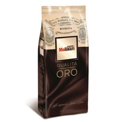 Caffe Molinari Qualita Oro Çekirdek Kahve 1kg - 8li Toptan Koli