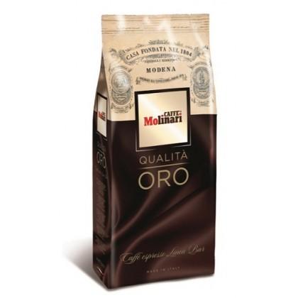 Caffe Molinari Qualita Oro Çekirdek Kahve 1kg - 6lı Toptan Koli