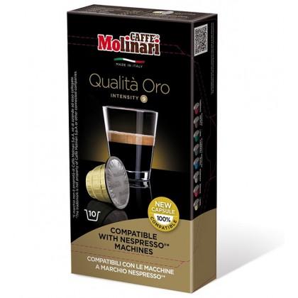 Caffe Molinari Nespresso Uyumlu Kapsül Kahve Oro 10 kapsül
