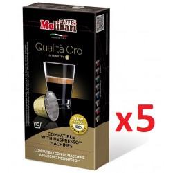 Caffe Molinari Nespresso Uyumlu Kapsül Kahve Oro 50 kapsül