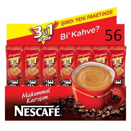 Nescafe 3ü 1 arada - 56lı Paket
