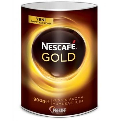 Nescafe Gold Granül Kahve Teneke 900g