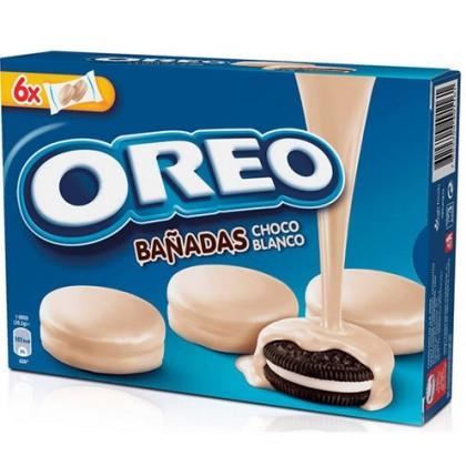 Oreo Beyaz Çikolata Kaplamalı Bisküvi 246g