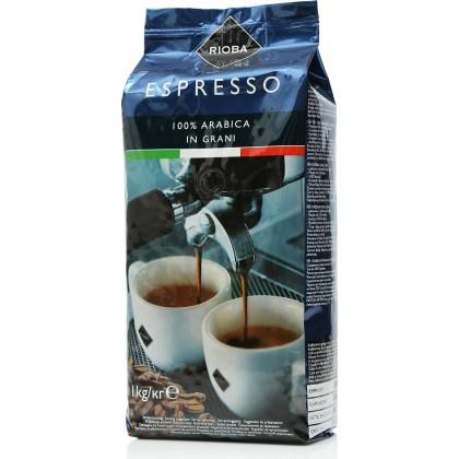 Rioba Platinum Arabica Çekirdek Kahve 1kg