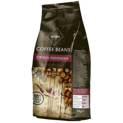 Rioba Endonezya Çekirdek Kahve 500g