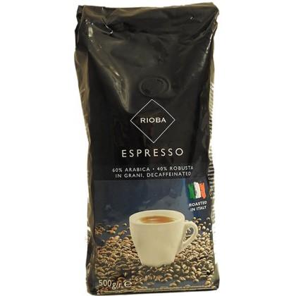 Rioba Kafeinsiz Çekirdek Kahve 500g