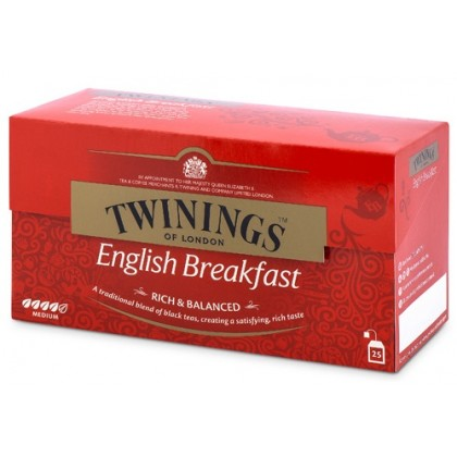 Twinings English Breakfast Poşet Çay 25li