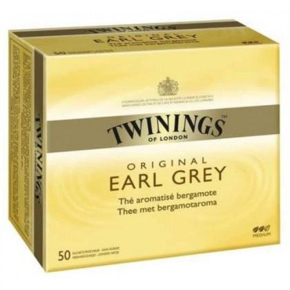 Twinings Earl Grey Poşet Çay 50li